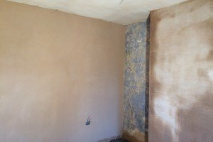 Skimming ceiling and walls